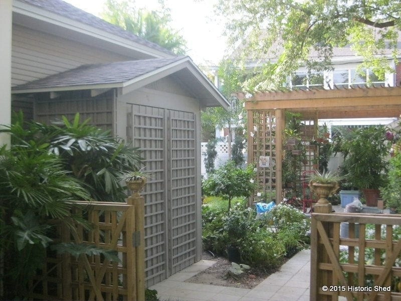 ... Storage Sheds Ocala Fl By Thin Storage Shed With Gable Roof Historic Shed  Florida ...