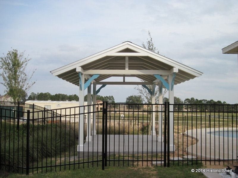 10'x14' Pool Pavilion