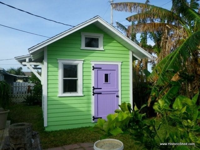 A Shed For A Florida Artist Historic Shed Florida