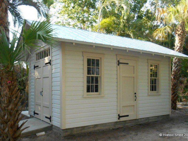 10'x16' custom shed
