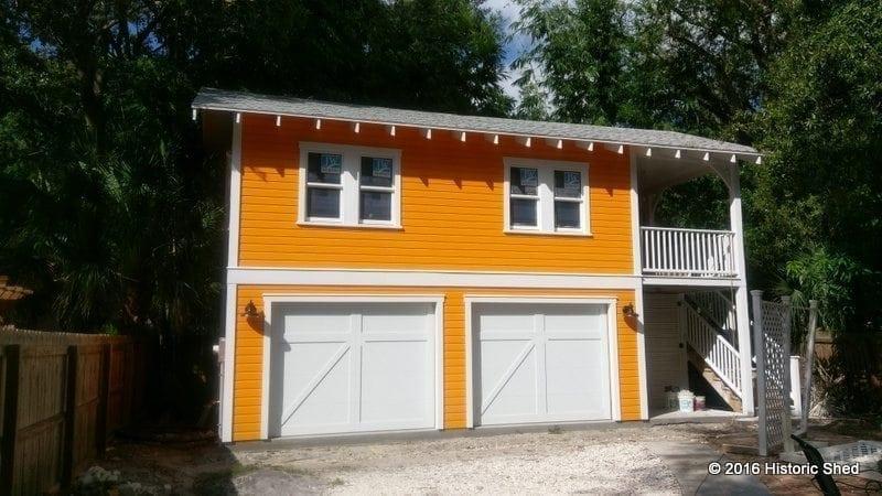 Detached Bungalow Garages | Historic Shed | Florida