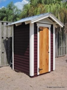 4'x4' Outhouse Shed
