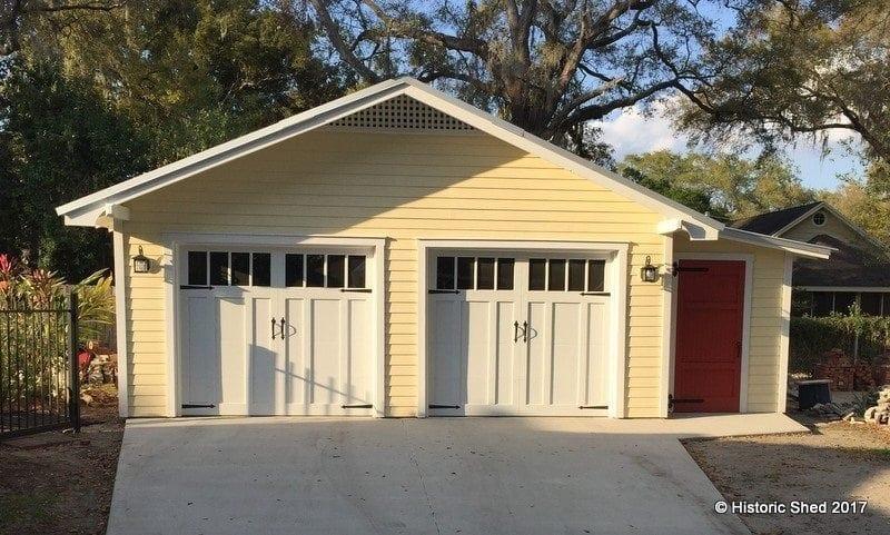 22'x22' Garage with 6'x18' Workshop