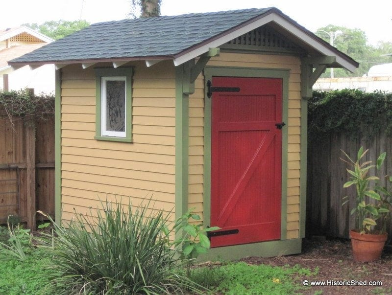 Gable Sheds Historic Shed