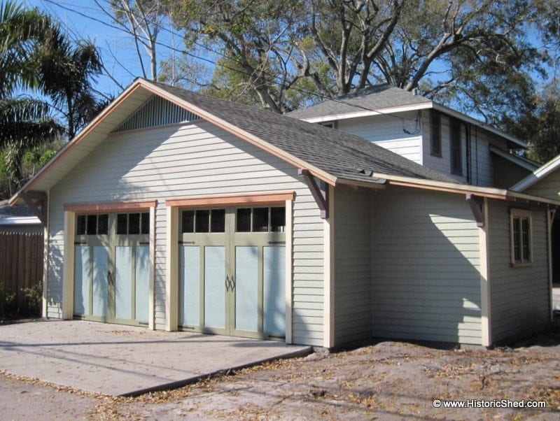 Detached Bungalow Garages | Historic Shed | Florida