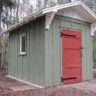 Gable shed with board and batten exterior by Historic Shed
