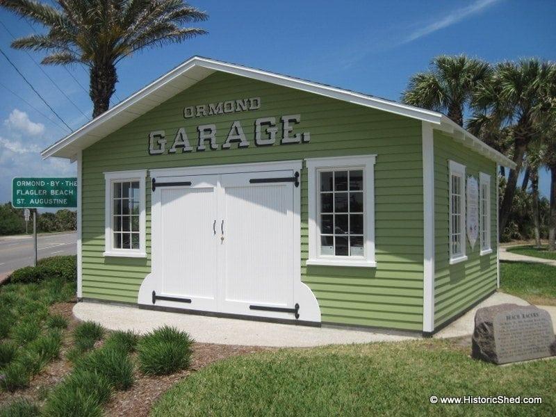 One Car Garages Historic Shed Florida