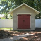 Lakeland Storage Shed by Historic Shed