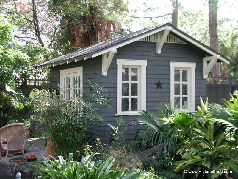 Historic shed cottages tiny houses historic shed - The tiny house in the garage ...