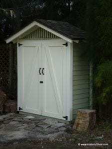 "5'x2'6"" Thin Gable Shed"