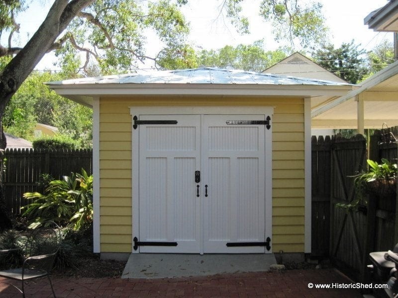 Hipped Sheds Historic Shed Florida