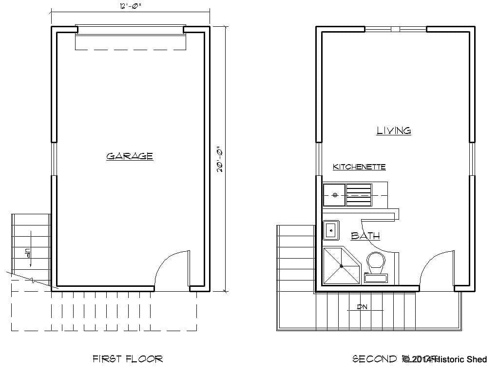 2 story apartment floor plans joy studio design gallery for Two story garage apartment plans