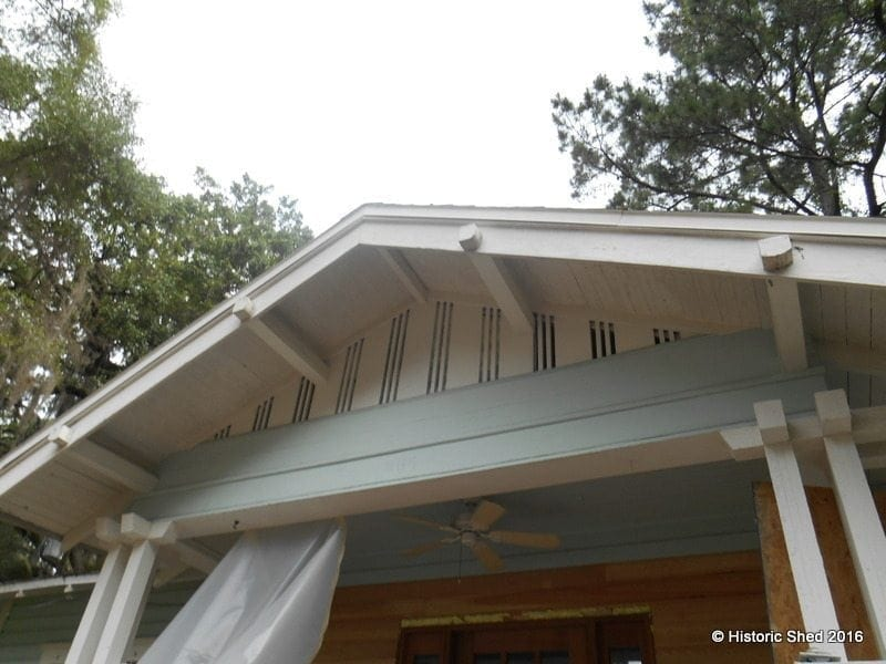 Craftsman Gable Vent