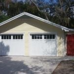 Two Car Detached Garage with Workshop