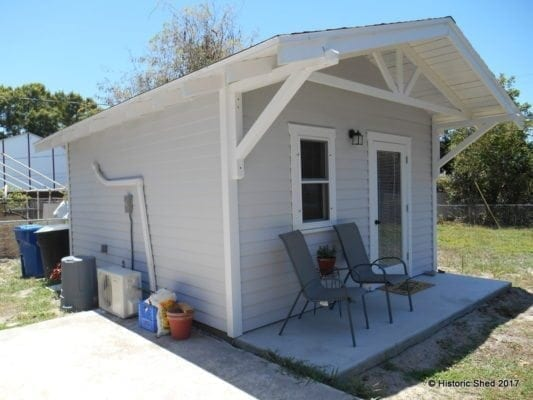 Starlet Accessory Living Unit Historic Shed Florida
