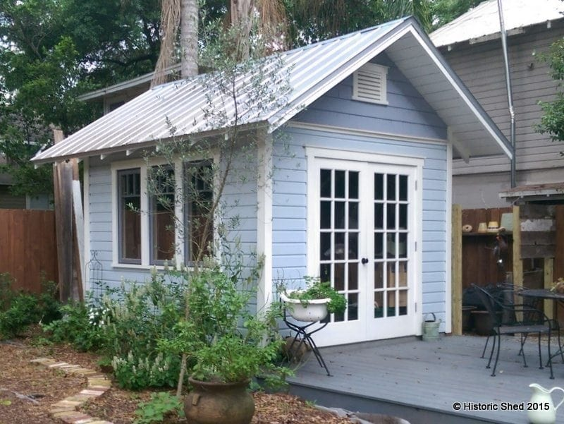 picture garden sheds florida