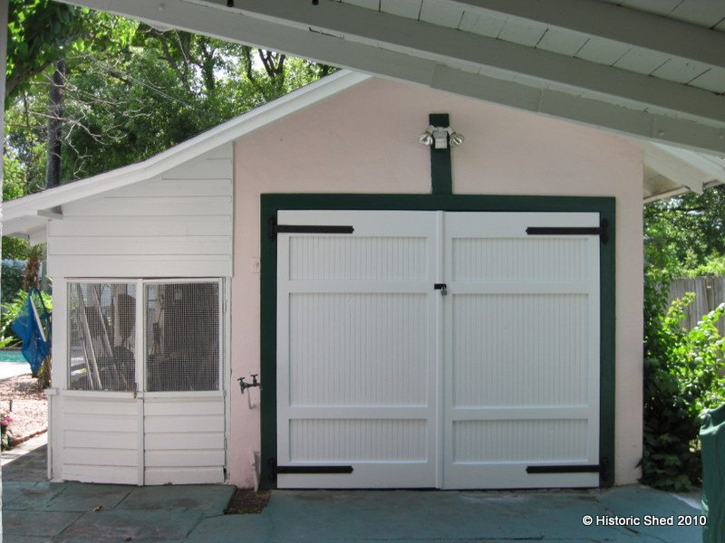 Historic shed custom sheds garages cottages florida for Sheds brooksville fl