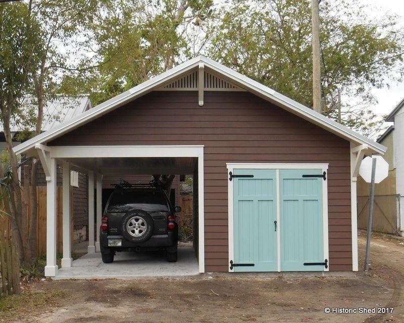 Carport Shed Historic Shed Florida