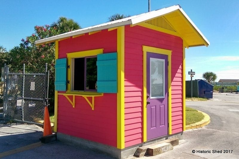 Tropical Parking Attendant Shed