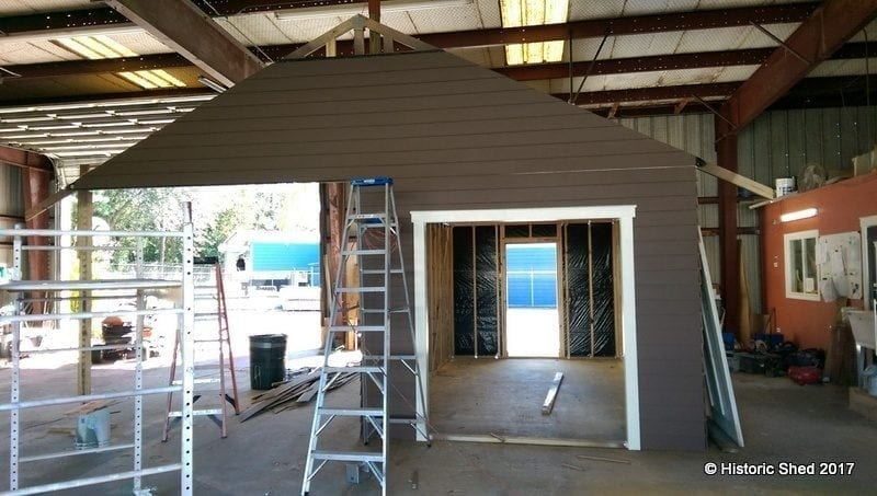 Carport shed historic shed florida for Sheds brooksville fl